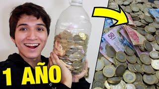 ABRIENDO BOTE DE MONEDAS DE $10 - GRAN AHORRO | VlogsPaper