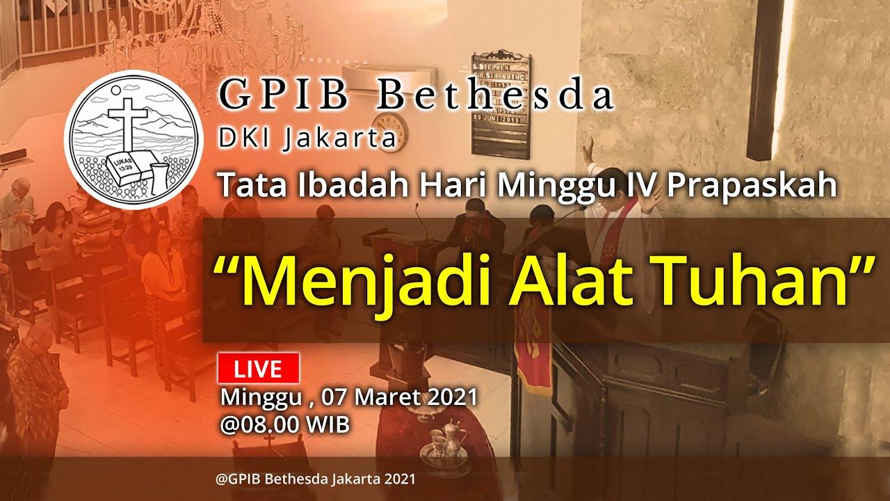 Ibadah Hari Minggu IV Prapaskah (07 Maret 2021)