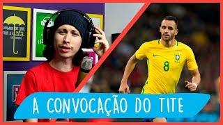 A CONVOCAÇÃO DO BRASIL PRA JOGAR CONTRA A ARGENTINA E ARÁBIA SAUDITA