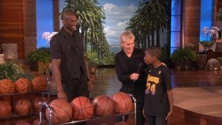 Kobe Meets a Young Fan thumbnail