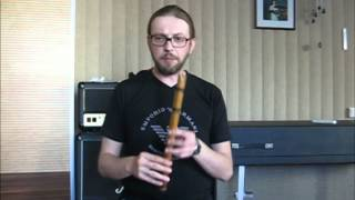 3. Кена (Quena), флейта андских индейцев. Дыхание и артикуляция.