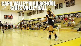 Capo Valley High School Girls Volleyball by Alex Iseri
