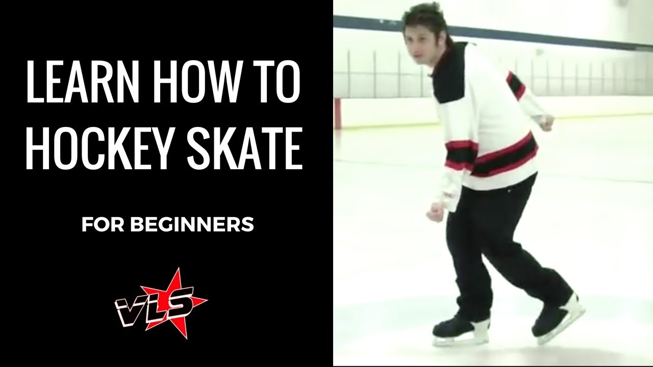 Vinnie Langdon: How To Hockey Ice Skate for Beginners ...