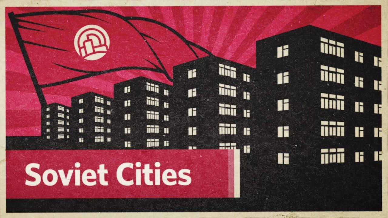 The Utopian, Socialist Designs of Soviet Cities