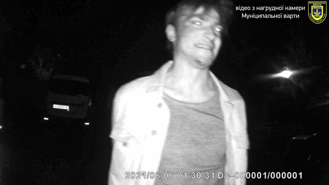Намагався утекти: п'яний водій отримав покарання за нетверезе водіння в Ірпені (ВІДЕО)