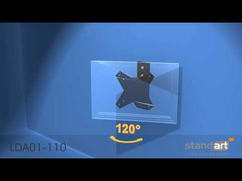 Televizoriaus laikiklio Standart LDA01 110 montavimas