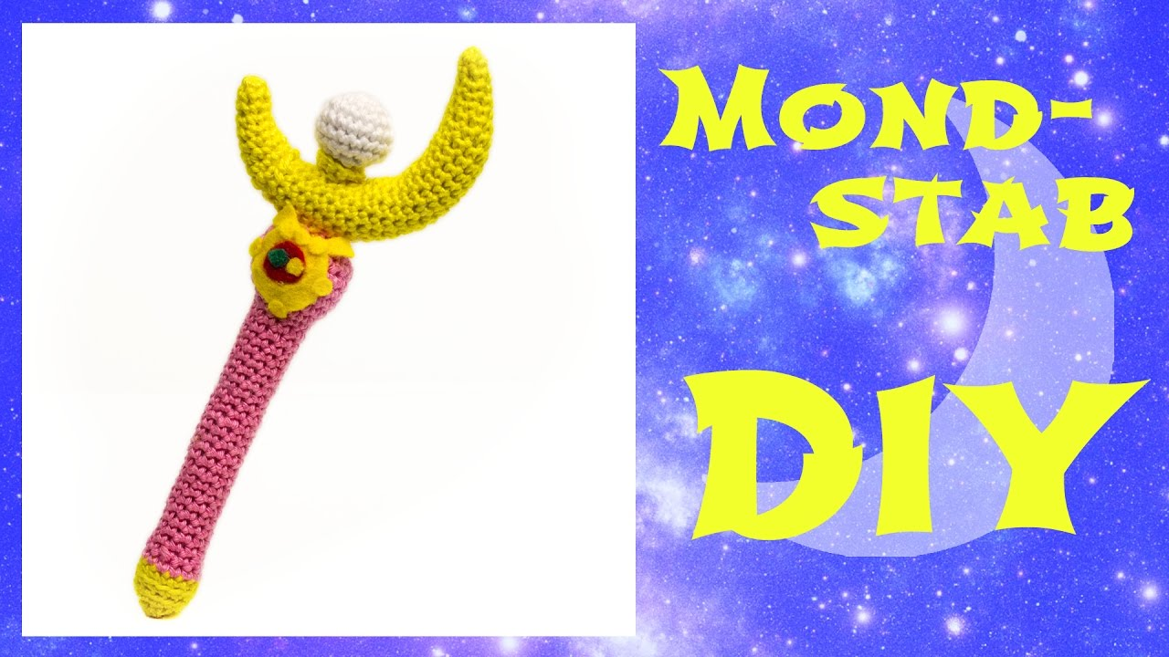 Mondstab Häkeln Do It Yourself Amigurumi Sailor Moon Engsub