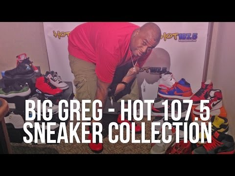 Sneaker Collection: Big Greg from Hot 107.5 - Detroit's Top Hip Hop Radio Station