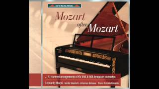 W. A. Mozart Piano concerto in d minor KV 466 (Allegro) arranged by J. N. Hummel (c. 1827)
