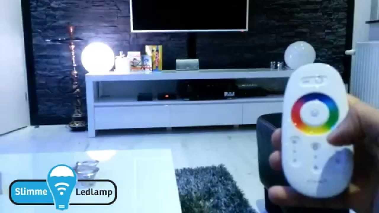 Wifi led lampenrgb bedienen met rf afstandsbediening wifi led lampenrgb bedienen met rf afstandsbediening demonstratie parisarafo Image collections