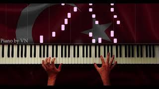 Her Şehidin Ardından Bir Türkü Söylenirmiş Anne - Piano by VN
