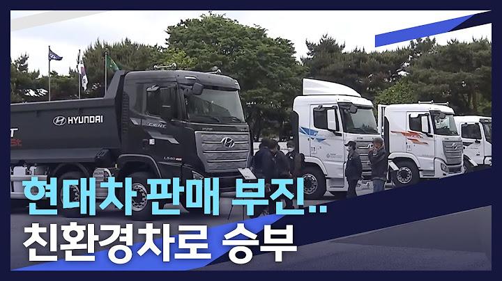 [뉴스데스크]현대차 판매 부진.. 친환경차로 승부