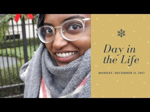 Day In The Life: Monday, December 11, 2017