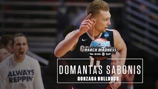 Domantas sabonis highlights: 2016 ncaa tournament