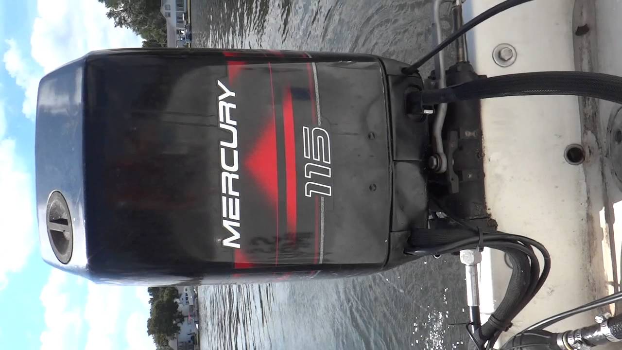 Idle on 1996 Mercury 115hp 2-Stroke OIl Injected Outboard Motor