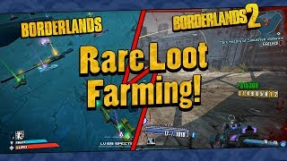 Borderlands 1 And 2 | Rare Loot Farming Funny Moments And Drops