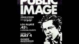 Public Image Ltd. Bad Baby(LA,Olympic Auditorium)
