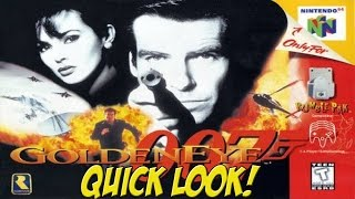 N64: Goldeneye 007! Quick Look - YoVideogames