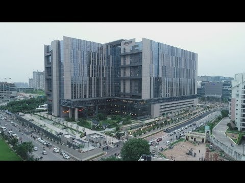 Making of the Amazon Hyderabad New Campus