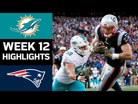 Download Youtube: Dolphins vs. Patriots | NFL Week 12 Game Highlights