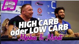 Low Carb oder High Carb? Seminar mit Markus und Murat