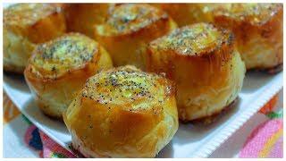 Шикарные булочки с сыром Быстро и просто