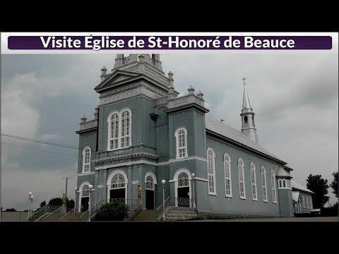 Visite Église De St Honoré De Beauce(Hier@Aujourd`hui)