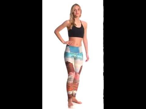 eae040c7e8 Teeki Unicorn Wrangler Hot Yoga Leggings   SwimOutlet.com - YouTube