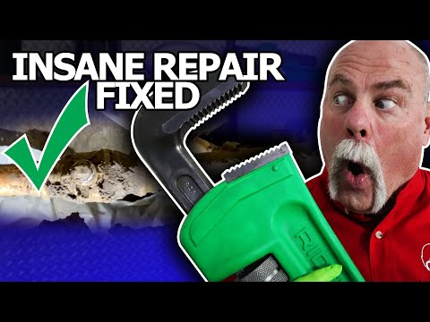 FIXING The Most INSANE Under House Plumbing Repair I've Ever SEEN