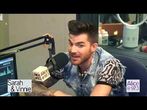Adam Lambert can't whistle