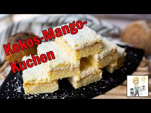 Traumhafter Kokos Mango Kuchen Mit Thermomix Und Ofenzauberer