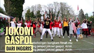 Gambar cover Ayo Goyang Jempol Jokowi Gaspol di Inggris (Lirik)