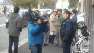 広島刑務所脱獄囚逮捕現場