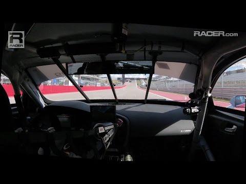 RACER: Dion von Moltke Audi R8 Pole Lap at COTA