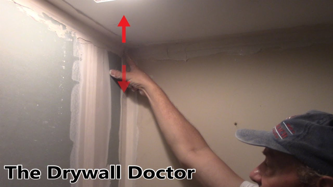 How To Fix Inside Corners For Paper Tape Problems The Drywall Doctor