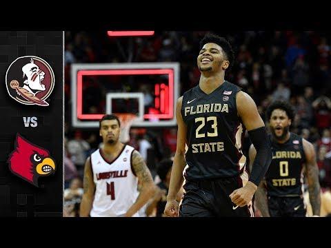 Florida State vs. Louisville Basketball Highlights (2017-18)