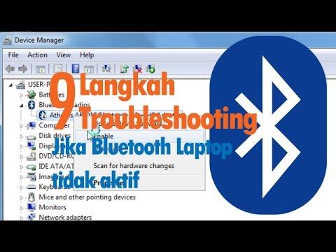9 Langkah Detail !!! Cara Menghidupkan Bluetooth di Laptop