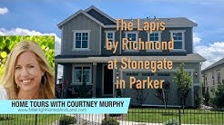New Homes in Parker Colorado - Lapis Model by Richmond at Stonegate