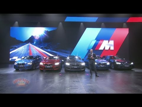 BMW Group Presentation at 2013 Frankfurt Motor Show