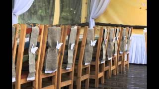 Рустиковые элементы в оформлении свадьбы стиля рустик.