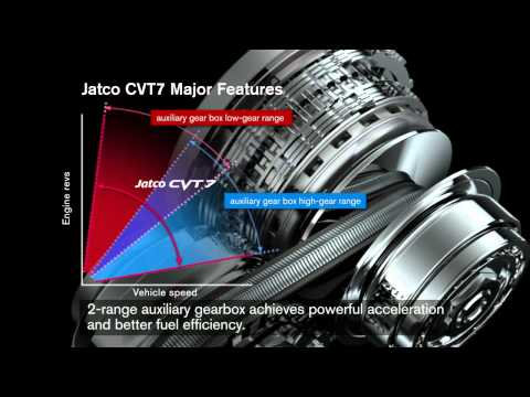 Фото к видео: Transmisia cu variatie continua CVT7 de la Jatco