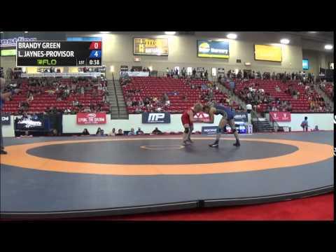 60 kg QF  Brandy Green Braves WC vs Leigh JaynesProvisor Army WCAP