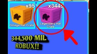 ROBLOX: Opening 155 boxes of Robux in Mining simulator