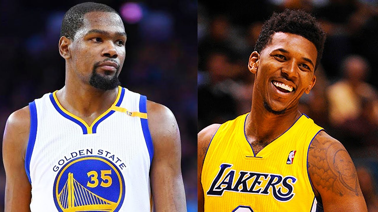 Kevin Durant roasted Nick Young as soon as 'Swaggy P' signed with the Warriors