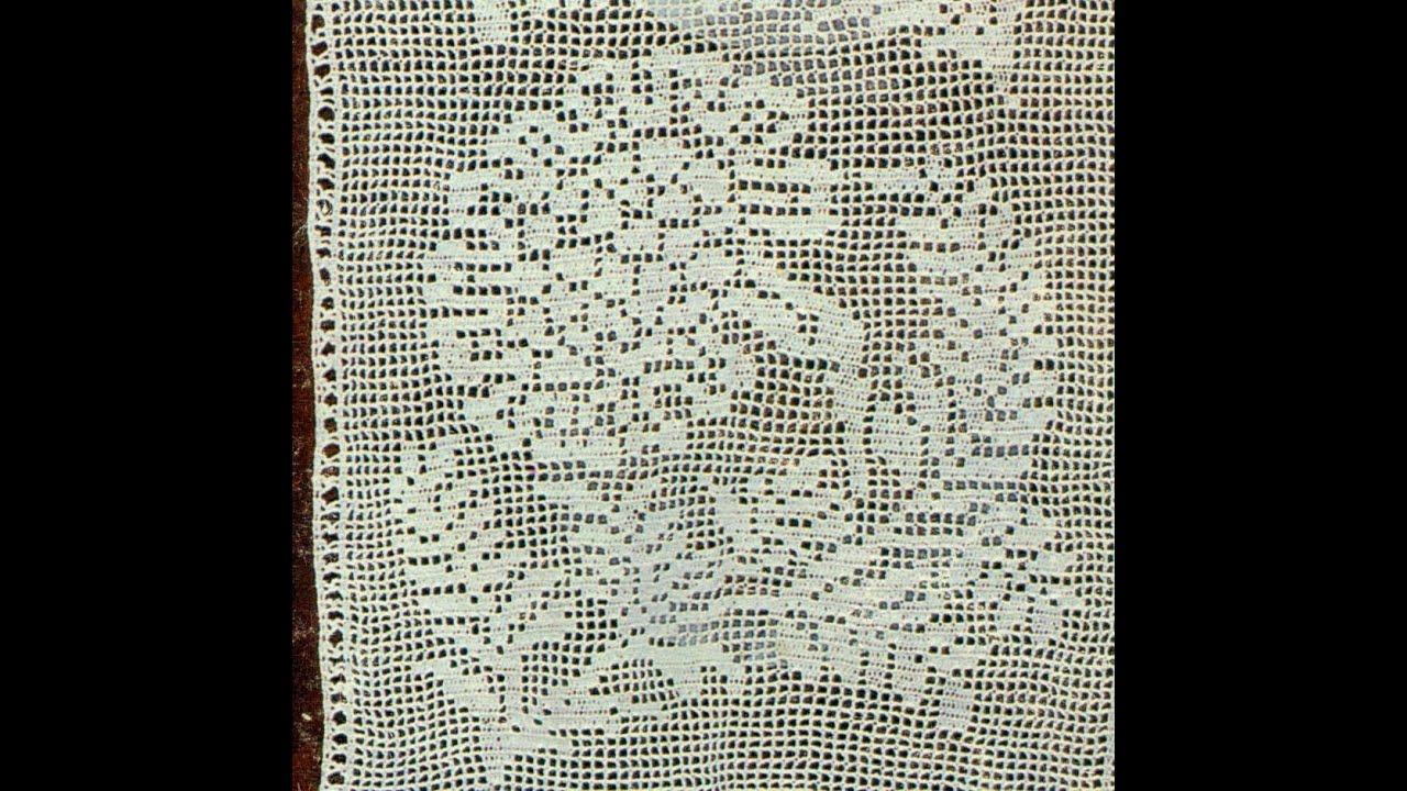 Gr ficos para tejer visillos a crochet youtube - Dibujos de ganchillo ...