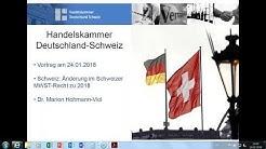 Webinar: Schweiz – So reagieren Sie auf die neue Mehrwertsteuerpflicht