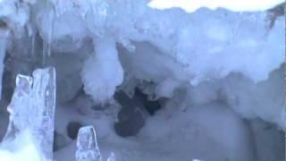 Grieta en el Glaciar de Jamapa