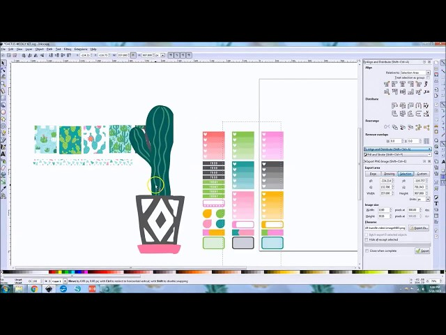 How to create Weekly Planner Stickers to cut with Cricut Explore