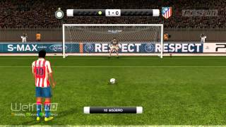 PES 2011 UEFA Super Cup Inter vs Atletico Madrid Highlights