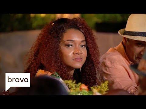 Dr. Aydin And Mariah Huq Walk Out Of The Group Dinner | Married To Medicine: S6, E11 | Bravo